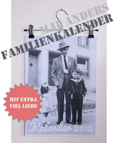 Familienfotokalenderliebesbekundung