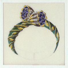 Vintage - Esquisses et Croquis - Bague - Jean Schlumberger pour Tiffany and Co