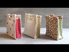 1/12th Scale Sewing Bag Tutorial - YouTube