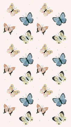 Butterflies ★ Check out more cute and preppy #iPhone + #Android #Wallpapers at @prettywallpaper