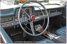 1965 Plymouth Fury dash