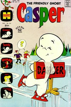 Casper the Friendly Ghost Series Harvey) comic books Old Comic Books, Vintage Comic Books, Vintage Cartoon, Comic Book Covers, Vintage Comics, Vintage Posters, Book Aesthetic, Retro Aesthetic, Casper The Friendly Ghost