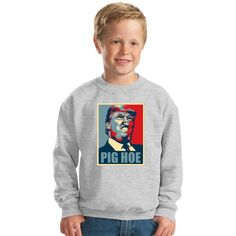 Pig Trump Kids Sweatshirt
