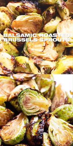 Balsamic Roasted Brussels Sprouts Recipe - Balsamic Roasted Brussels Sprouts Recipe – How to roast brussels sprouts with balsamic vinegar. Brussels Sprouts Recipe Balsamic, Grilled Brussel Sprouts, Cooking Brussel Sprouts, Roasted Sprouts, Brussels Recipe, Brussel Sprouts And Zucchini Recipe, Thanksgiving Brussel Sprouts, Roasted Brussel Sprouts Bacon, Healthy Recipes