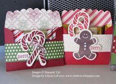 """12/6/2012; Eileen's """"Stampin' Fever"""" Blog; gift card holder"""