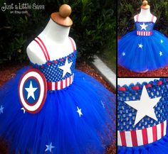 Hey, I found this really awesome Etsy listing at http://www.etsy.com/listing/161559189/captain-america-costume-tutu-dress