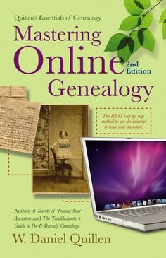 Mastering Online Genealogy - New arrival July 13, 2012. #gentipjar #genealogy #books