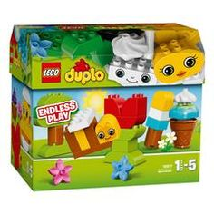 Buy LEGO DUPLO - Creative Chest at Mighty Ape NZ. Get creative with LEGO® DUPLO throughout the year! With this set, young builders can get creative with LEGO® DUPLO® throughout the year—build a sprin. Lego Duplo, Legos, Van Lego, Building Blocks Toys, Big Building, Snowman Faces, Shops, Baby Girl Toys, Colorful Trees