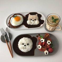 ✧.-ˏˋ♡@babysunnye♡ˊˎ-.✧ I Love Food, Good Food, Yummy Food, Cute Snacks, Food Goals, Aesthetic Food, Korean Aesthetic, Cafe Food, Unique Recipes