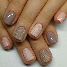 Diseños de uñas lindos para diseños de uñas de acrílico cortos perfectos para cada dama elegante ...  #acrilico #cortos #elegante #lindos #perfectos