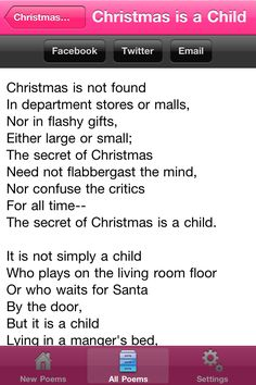 Christmas Day QUOTATION – Image : Quotes about Christmas Day – Description free christmas poems for children to recite for teachers Kids Christmas Poems, Xmas Poems, What Is Christmas, Christmas Quotes, Teacher Poems, Good Life Quotes, Top Quotes, Magic Quotes, Christmas Program