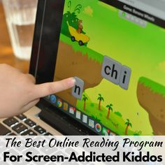 The Best Online Reading Program for Screen-Addicted Kiddos