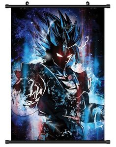 POSTER Vegito Dragon ball Wall Scroll Printed Painting Home Decor Japanese Cartoon Decoration Poster 60*90cm