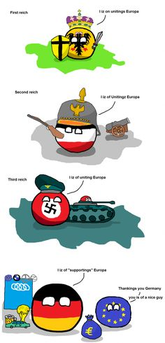 Fourth German reich???!!! | Polandball Comics