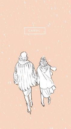 More fabulous fan art for #Carolmovie from Japan (?)
