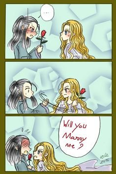 Celeborn and Galadriel - 29/2 by Windrelyn on DeviantArt