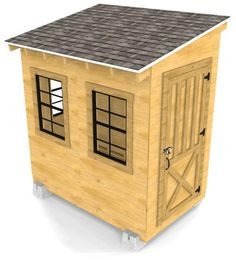 From setting the foundation to installing the roof, this backyard shed guide will aid you in building your own garden storage solution. Backyard Storage Sheds, Storage Shed Plans, Backyard Sheds, Wood Shed Plans, Diy Shed Plans, Shed Construction, Firewood Shed, Build Your Own Shed, Small Sheds