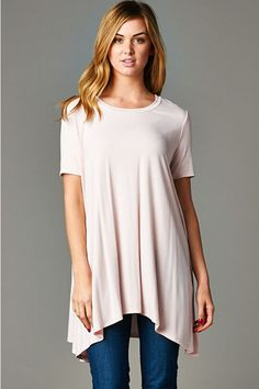 Lyndsey Tunic in Blush