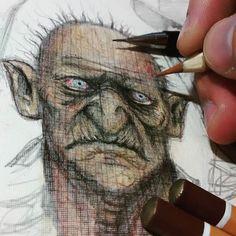 Estudo rápido. #drawing #sketch #concept #colors #art #arte #instaart #artcollective #artworks #artwork #conceptart