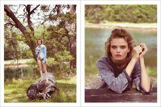 Stonefox Editorial SS 2014 - Marthe Wiggers by Christopher Ferguson