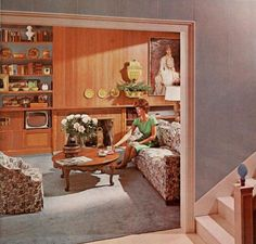 1960s - Home Decor #70sHomeDecor
