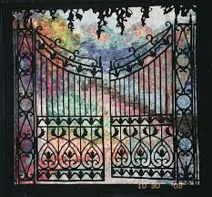 colourwash landscape quilt - masterpiece