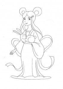 Mid-Autumn Festival Moon Goddess