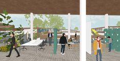 Coliving: Arca de NOE - Nuevas maneras de habitar. on Behance My Works, Illustration, Behance, Architecture, Decks, Arquitetura, Illustrations, Architecture Design