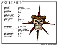 Spelljammer Ship - Skullship