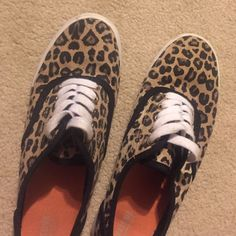 Cheetah Off Brand Vans