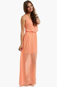 Gone With The Breeze Maxi Dress $31 at www.tobi.com @Tristin Pulver
