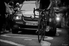 The Dark Rider by kristof ramon, via Flickr. Tour de France 2012 - stage 14