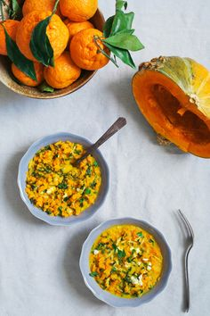 Curried Squash and Kale Riceless Risotto (via Bloglovin.com )