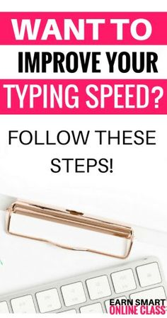 Most transcription companies expect you to have an accuracy score of 95 - 98% and a (TAT) Turn Around Time that is, at least, three times the audio recording. So, how do you improve your typing speed and meet these requirements? I have put together five awesome tips that will help you get there faster. Let'check them out! Transcription Jobs From Home, Transcription Jobs For Beginners, Medical Transcription, Earn Money From Home, Way To Make Money, Typing Skills, Typing Hacks, Typing Jobs, Learn To Type