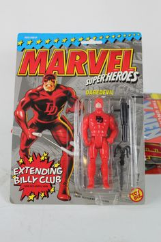 1990 Toy Biz Marvel Super Heroes Daredevil Action Figure | eBay