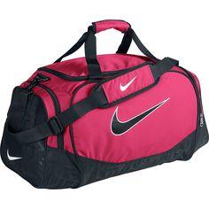 3bcd2c1a96 Sports Bags & Backpacks - Rebel Sport - Nike Brasilia 5 Duffel/Grip Bag Pink