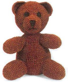 Lion Brand Yarn has over free knitting and crochet patterns of various colors, sizes and project types. Each one uses Lion Brand yarns and ranges from beginner to expert skill level. Crochet Teddy Bear Pattern, Crochet Bear, Crochet Toys Patterns, Crochet For Kids, Crochet Animals, Stuffed Toys Patterns, Crochet Crafts, Crochet Dolls, Free Crochet