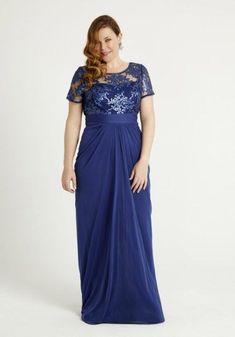 vestidos-de-noche-para-gorditas-largo-azul-oscuro