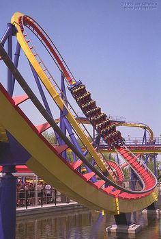 Roller Coaster: Mantis at Cedar Point in Sandusky, OH Love it! Love it! Love it!!