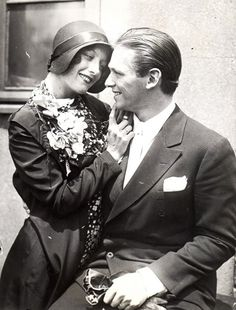 Joan Crawford and Douglas Fairbanks Jr. - 1920's. The 'It' couple of the late 1920s and early 1930s.