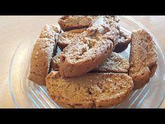Νιστήσιμα παξιμαδάκια στο λεπτό!! - YouTube Apple Pie, Muffin, Bread, Youtube, Breakfast, Desserts, Food, Morning Coffee, Tailgate Desserts