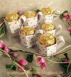 Ankes Papierstube: Mini -Tassen / Goodies