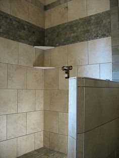 Bathroom Shower Tile (site has galleries some smaller showers)