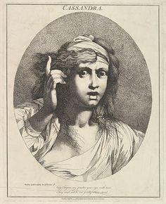 John Hamilton Mortimer, Cassandra (from Twelve Characters from Shakespeare)