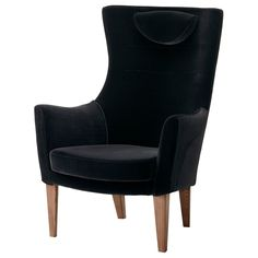 STOCKHOLM High-back armchair - Sandbacka black - IKEA $599