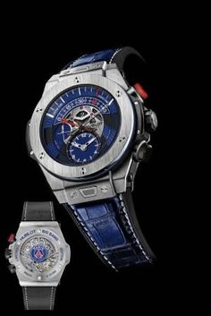 Hublot presenta el nuevo reloj exclusivo del Paris Saint-Germain