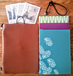 Traveler's Notebook cover for A6 notebooks,Midori Fauxdori style leather…