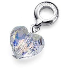 Oliver Weber Prívesok Charmed Crystal Heart 56016 001