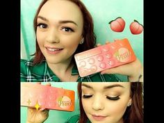 Too Faced Sweet Peach Collection | Palette Reveiw - YouTube
