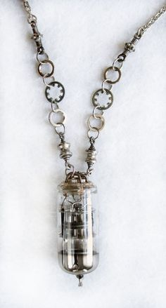 Steampunk + cyberpunk Jewelry